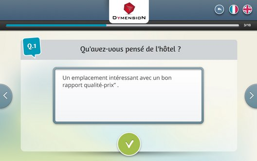 Mesure de satisfaction par commentaire libre